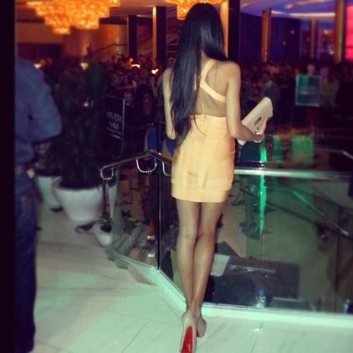 The Jetset Party Dress: Body con mini dress