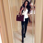 How to wear over knee boots & look chic