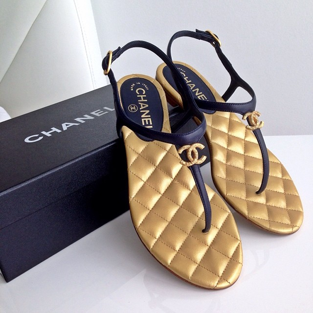 Chanel-sandals | JetsetBabe