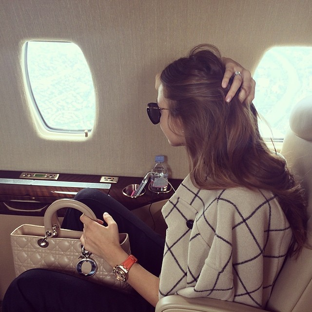Luxury Woman On Airplane : Jetsetbabe l fashion about the luxury life of jet set