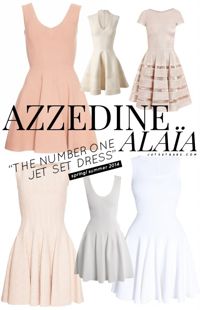 Replica Pink Alaia Dress AZZEDINE ALAIA DRESS x