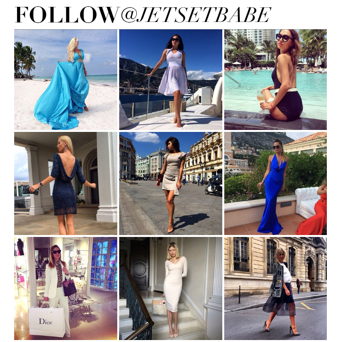 JET SET BABE INSTAGRAM