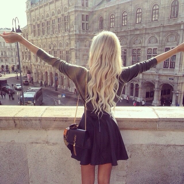 So happy it's the weekend! ?@liinanossenko #jetsetbabe #jetsetbabes #ysl #blog