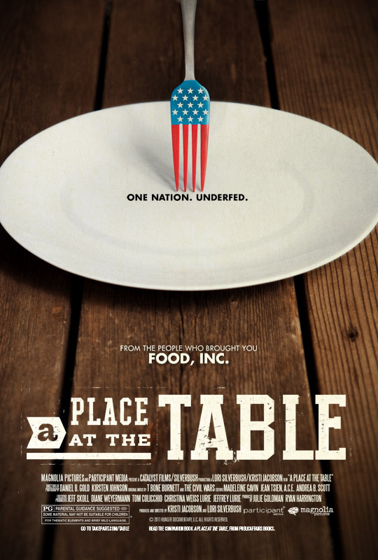 A place at the table Documentary