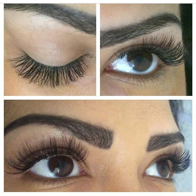 Russian Volume Eye Lash Extensions