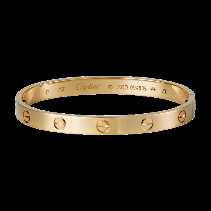 Love bracelet by Cartier
