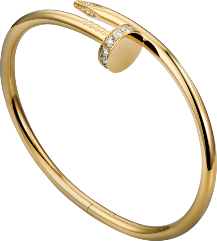 Juste en Clou bracelet by Cartier