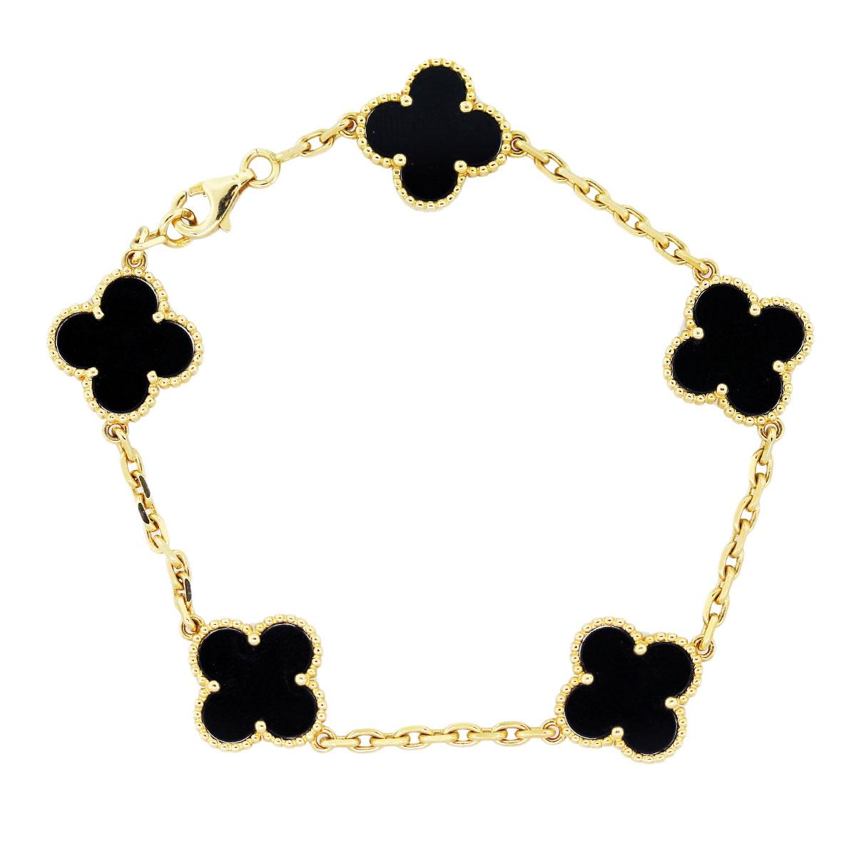 Alhambra bracelet by Van Cleef