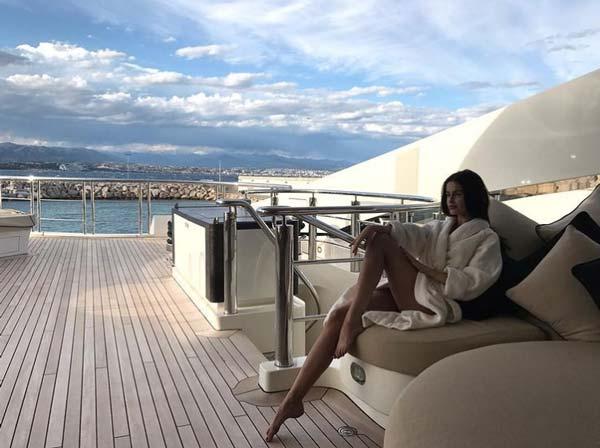missis_nadin_ on yacht