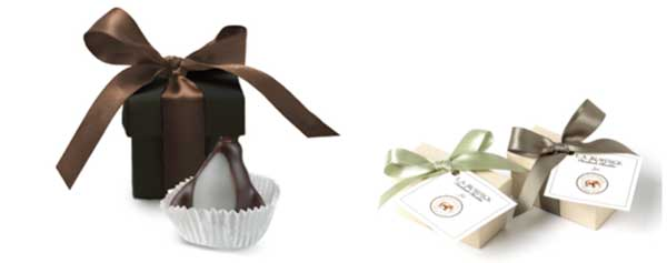 parting gifts like chocolate for party