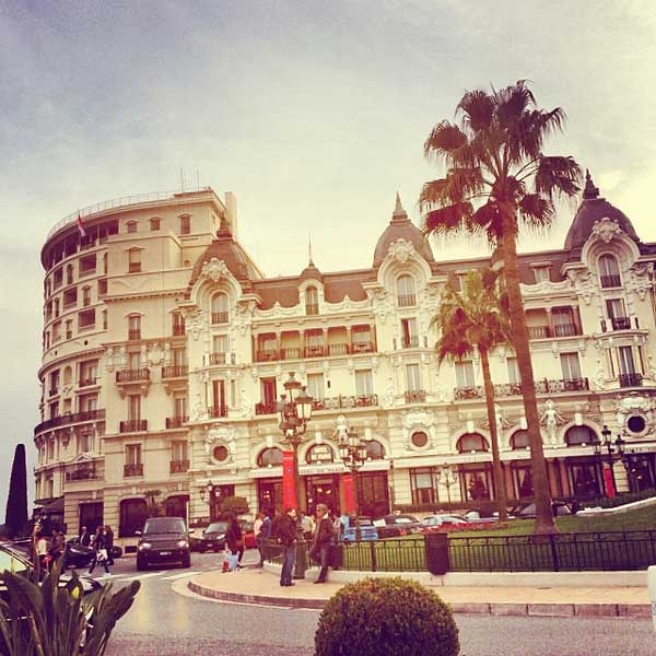 hotel de paris monaco during day
