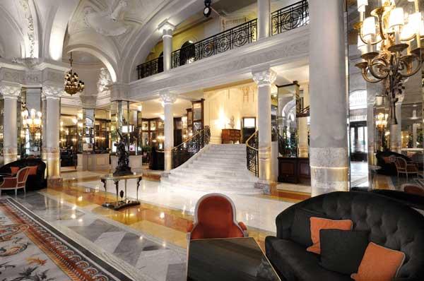 hotel de paris monaco lobby