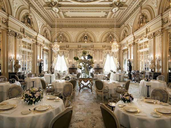 restaurant in hotel de paris