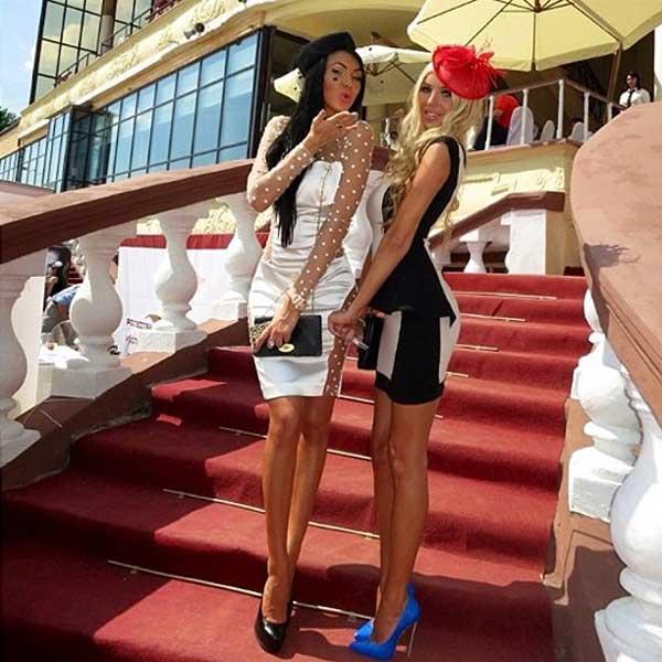 two girls in hotel de paris monaco