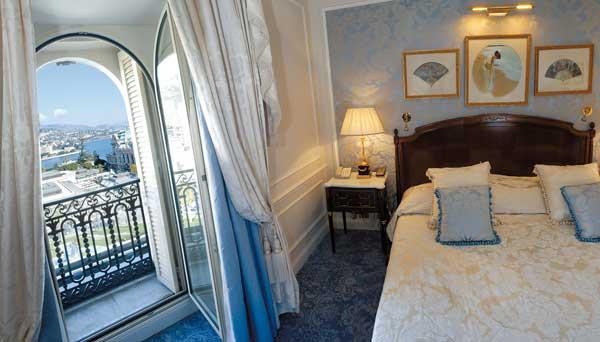 view of monaco from hotel de paris